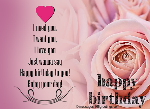 happy birthday love message to my girlfriend ; birthday-wishes-for-girl-friend-06