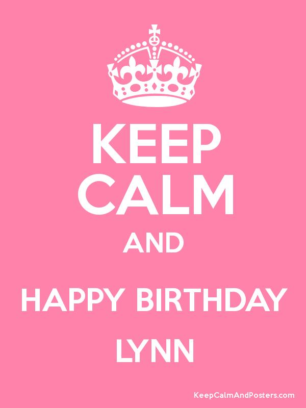 happy birthday lynn ; 373819