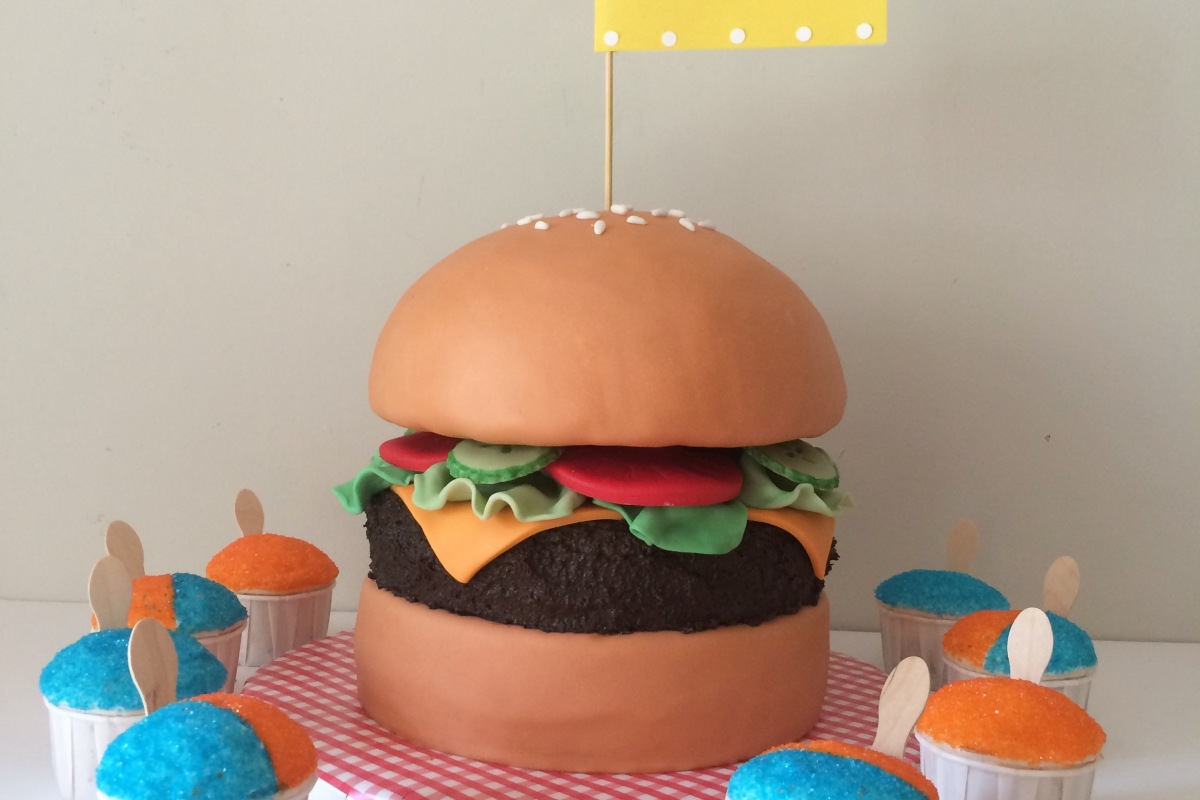 happy birthday mac ; snocone-cupcakes-and-hamburger-cake-1200x800