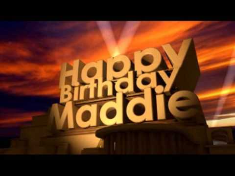happy birthday maddie ; hqdefault