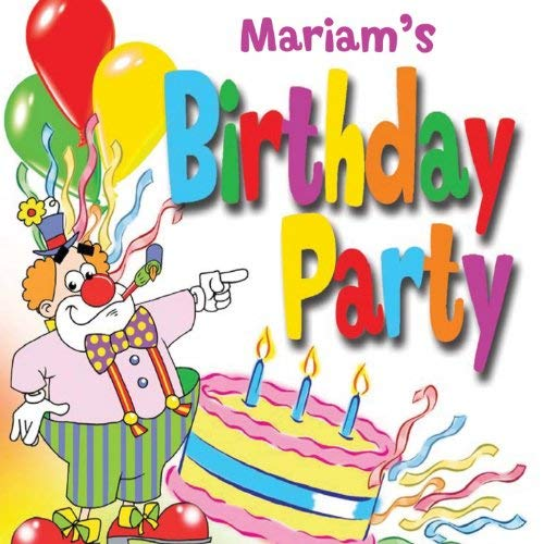 happy birthday mariam ; 51BKoecs-9L
