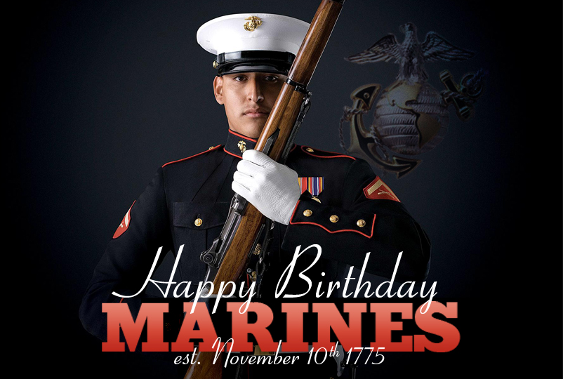 happy birthday marine images ; 121107-F-BZ728-009