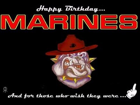 happy birthday marine images ; hqdefault