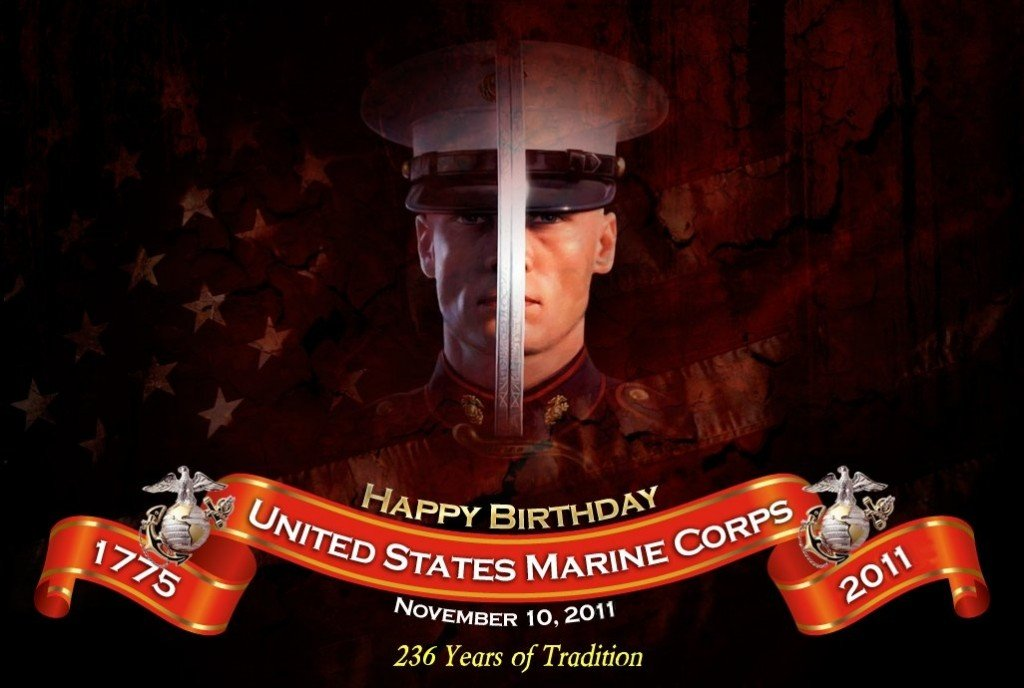 happy birthday marine images ; marine-corps-birthday-2011