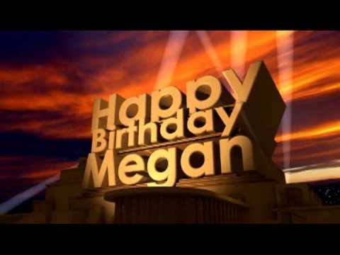 happy birthday megan images ; hqdefault