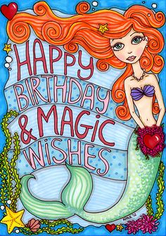 happy birthday mermaid meme ; 0cf90e182c0661e3cfd3442224457f99--birthday-greetings-birthday-wishes