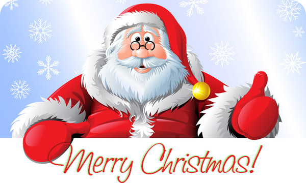 happy birthday merry christmas clip art ; Christmas-Santa-Images-2017