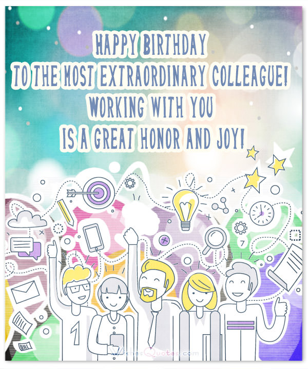 happy birthday message colleague ; ColleagueHappy-Birthday-Wishes-Card