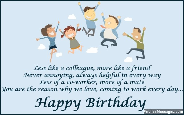 happy birthday message colleague ; Cute-birthday-message-for-colleagues