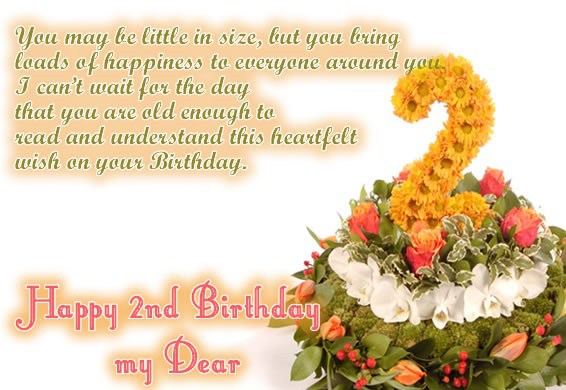 happy birthday message for 2 year old ; cute-birthday-wishes-for-2-year-old