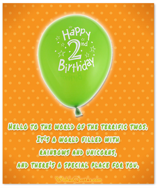 happy birthday message for 2 year old ; the-world-of-the-terrific-twos