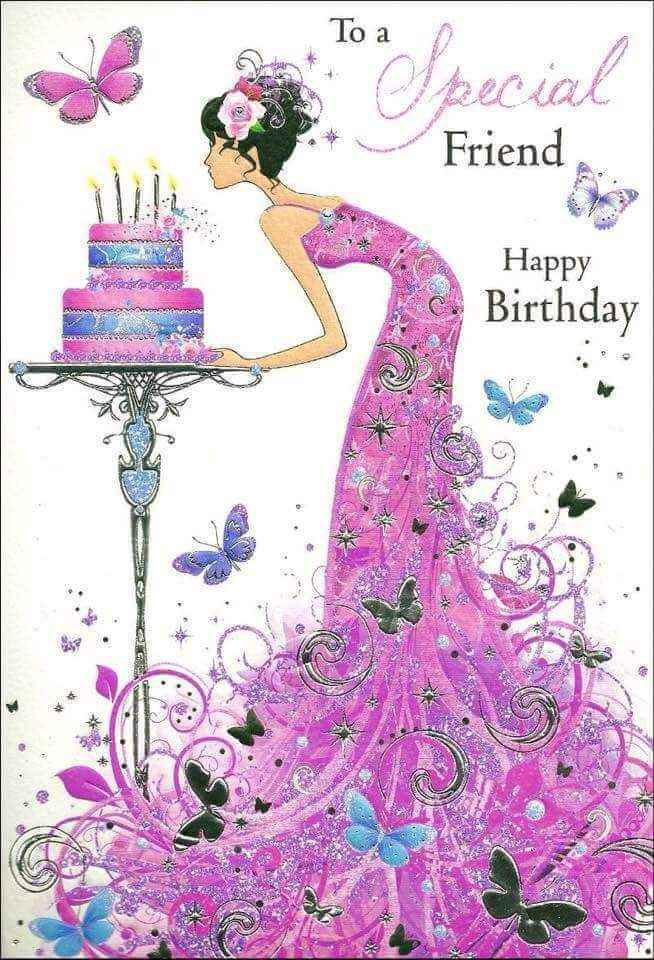 happy birthday message for a female friend ; Happy-Birthday-to-Best-female-Friend