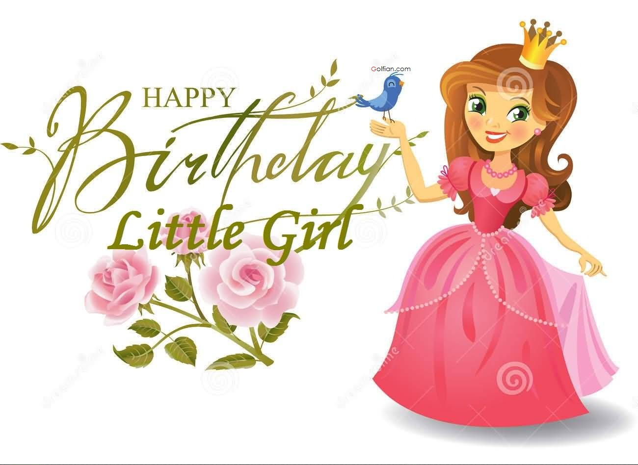 happy birthday message for kid girl ; Amazing-E-Card-Birthday-Wishes-For-Little-Girl