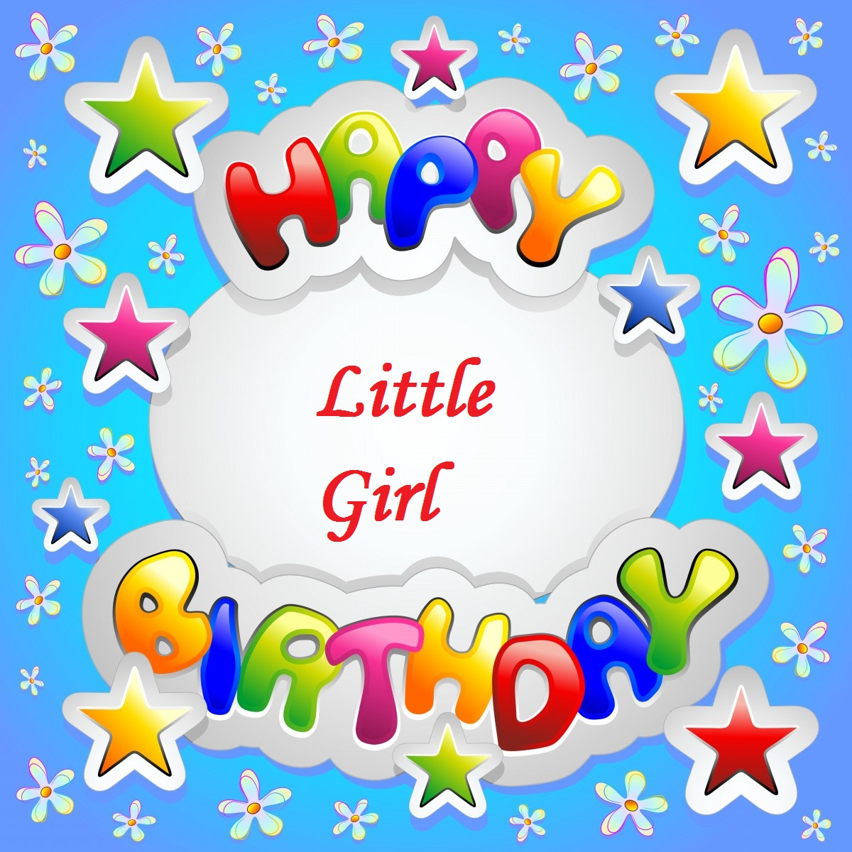 happy birthday message for kid girl ; lovely-greetings-birthday-wishes-for-little-girl-1