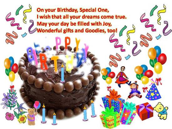 happy birthday message for kids ; 303327