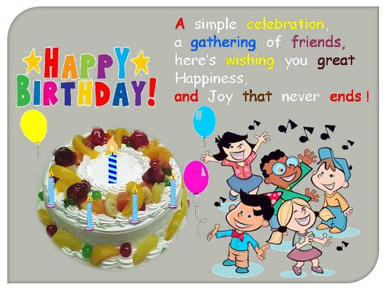 happy birthday message for kids ; 305442