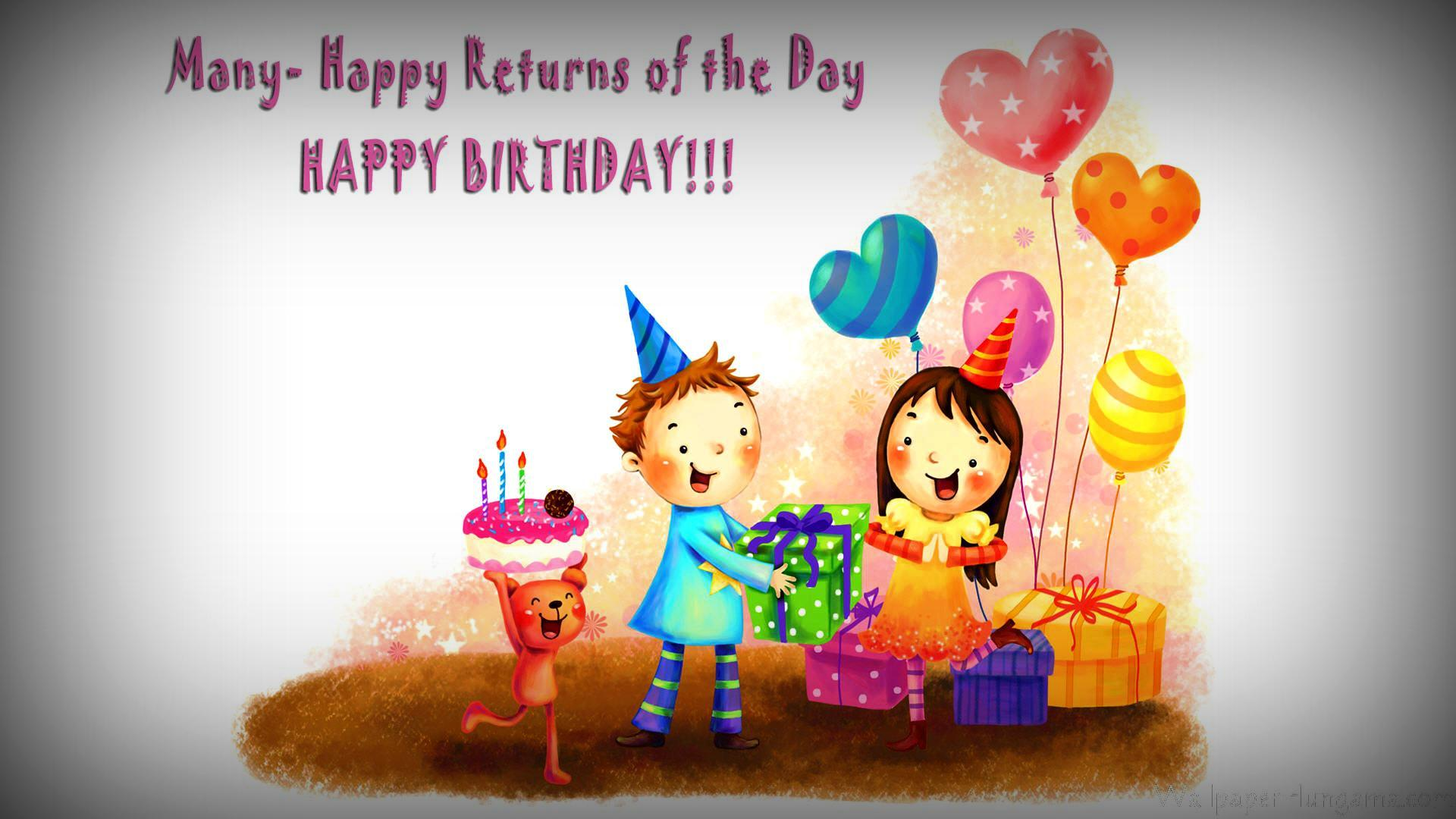 happy birthday message for kids ; 4