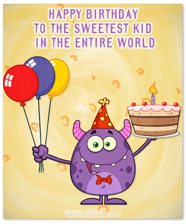 happy birthday message for kids ; Happy-Birthday-sweetest-kid