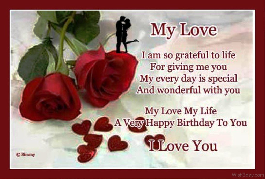 happy birthday message from husband to wife ; My-Love-My-Life-A-Very-Happy-Birthday-To-You