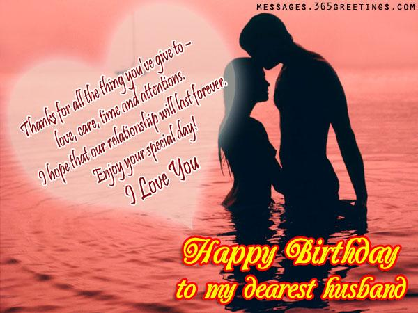 happy birthday message from husband to wife ; romantic-birthday-wishes-for-husband
