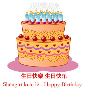 happy birthday message in chinese ; Happy-Birthday-Chinese