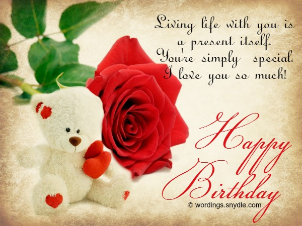 happy birthday message love my life ; birthday-wishes-for-girlfriend
