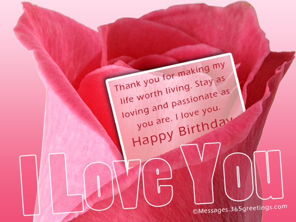 happy birthday message love my life ; happy-birthday-wishes-for-someone-special