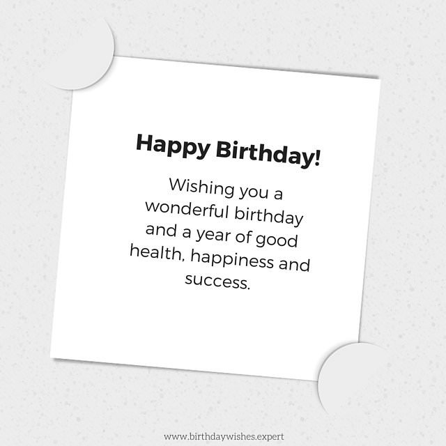 happy birthday message sample ; Birthday-wish-for-formal-use