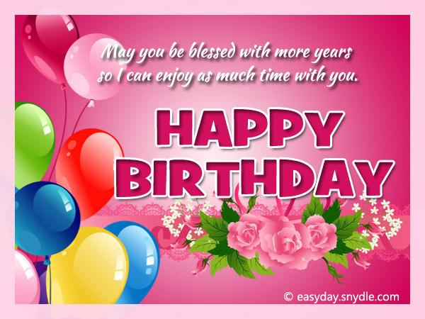 happy birthday message sample ; birthday-greetings1