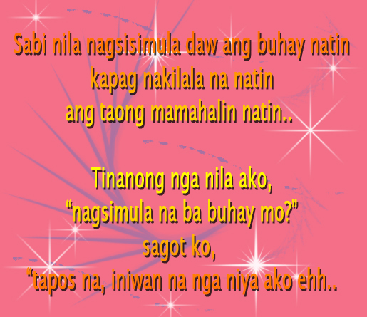 happy birthday message tagalog for girlfriend ; sweet-tagalog-love-quotes