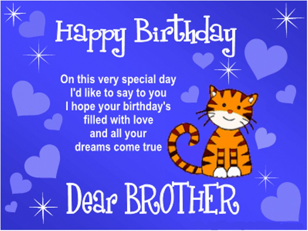 happy birthday message to a big sister ; happy-birthday-brother-quotes