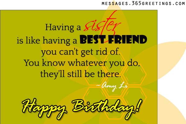 happy birthday message to a big sister ; sister-birthday-wishes