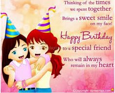 happy birthday message to a special female friend ; 09c03003aa994d3d7c5f7e444dcec8a4
