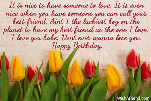 happy birthday message to a special female friend ; 715-birthday-wishes-for-girlfriend