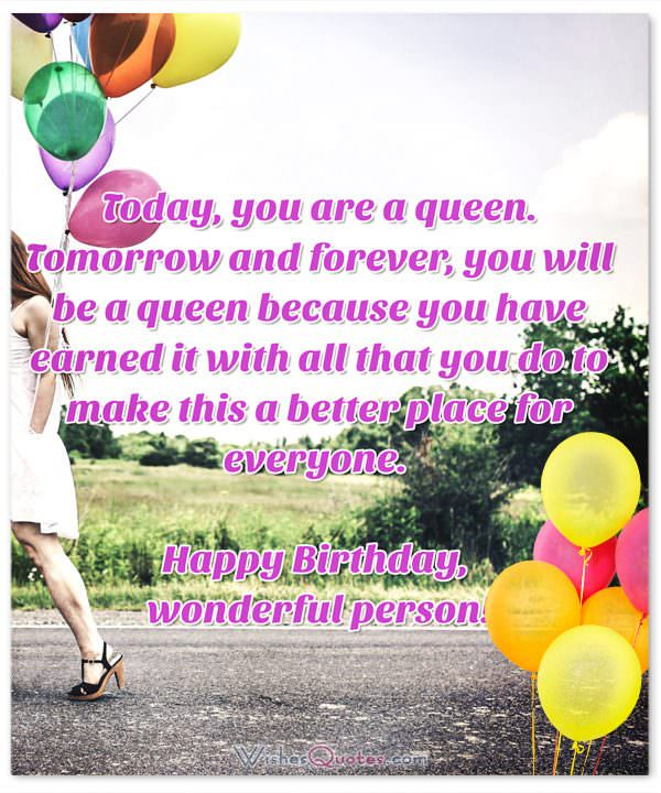 happy birthday message to a special female friend ; Birthday-Wishes-for-Someone-Special-5-600x720