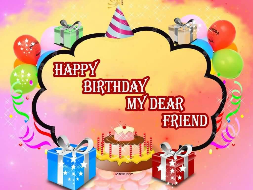 happy birthday message to friend in hindi ; Sweet-E-Card-Birthday-Wishes-For-Friend