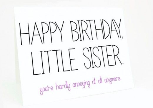 happy birthday message to little sister ; cf208cd48ccbdd0c3373a2f7fcedc1d9