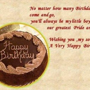 happy birthday message to mom from son ; 71443f45285aabbcec2937bcb64cc23b