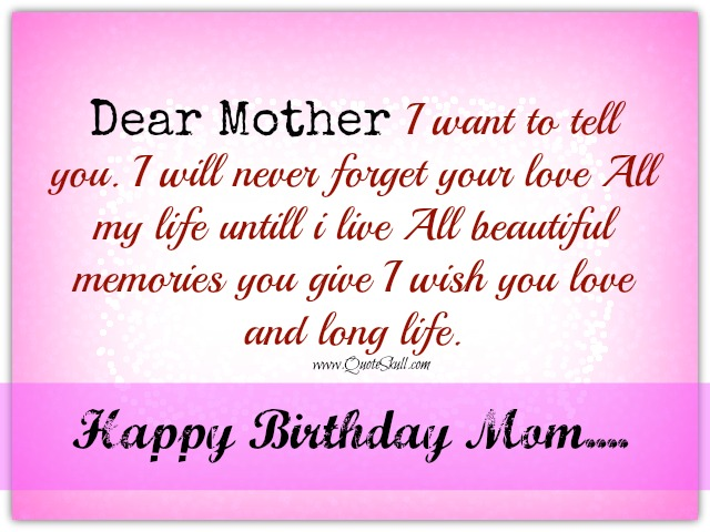 happy birthday message to mom from son ; Birthday-Wishes-Status-for-Mom-from-Son-Image