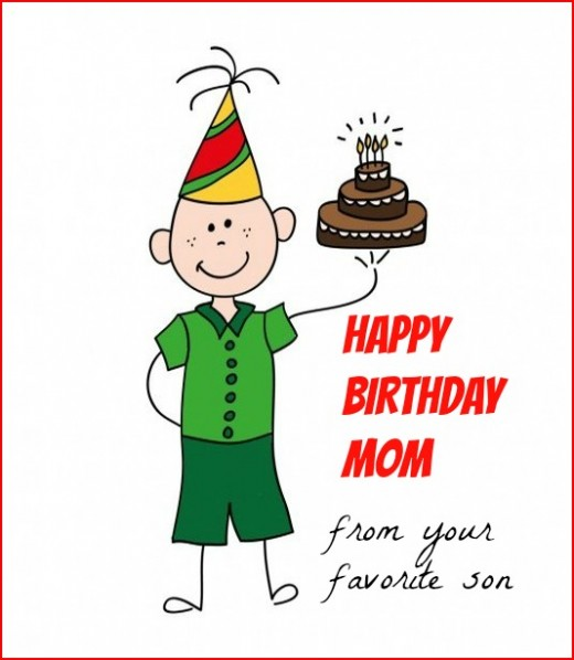 happy birthday message to mom from son ; Happy-Birthday-Mom-From-Your-Favorite-Son