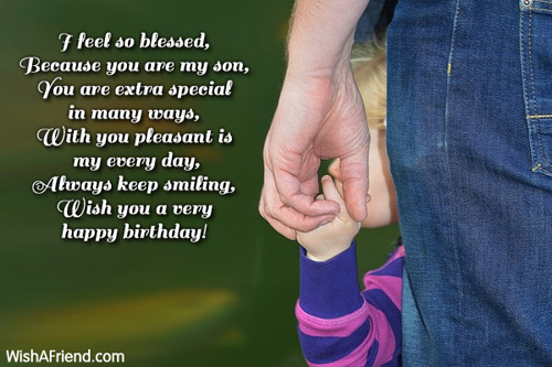 happy birthday message to my 4 year old son ; 2870-son-birthday-wishes