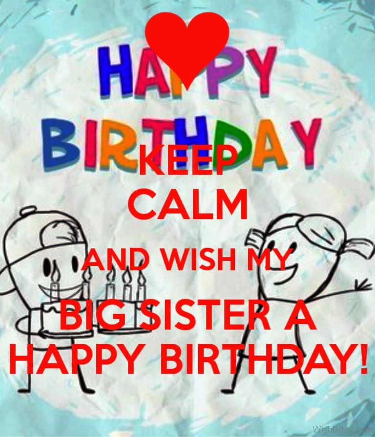 happy birthday message to my big sister ; Wish-My-Big-Sister-A-Happy-Birthday-1