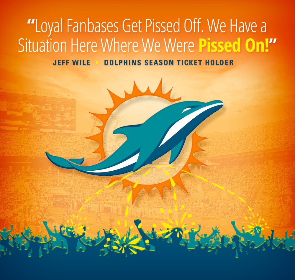 happy birthday miami dolphins ; 2016DolphinPiss