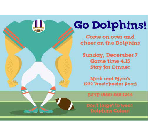 happy birthday miami dolphins ; invite-football-dolphins01