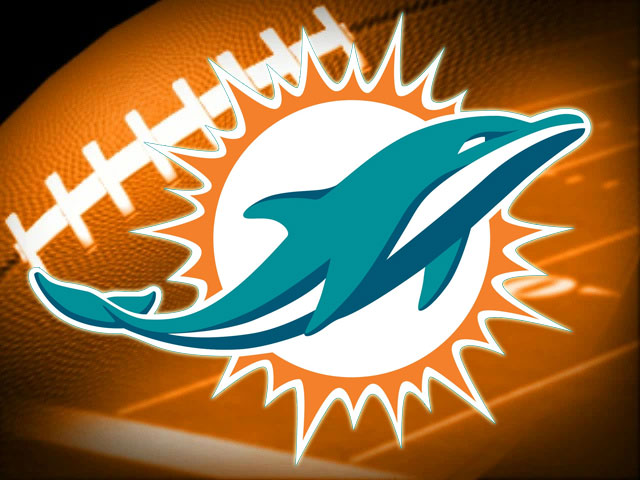happy birthday miami dolphins ; logo