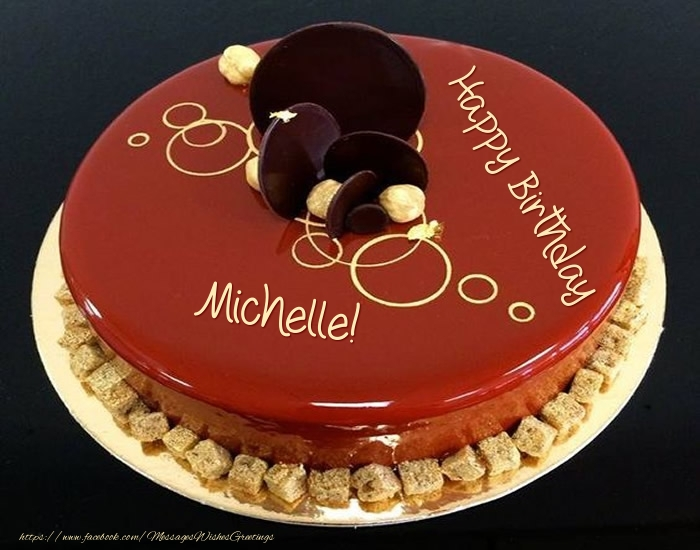 happy birthday michelle cake ; birthday-michelle-53927