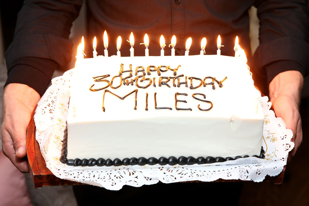 happy birthday miles ; GettyImages-642814908