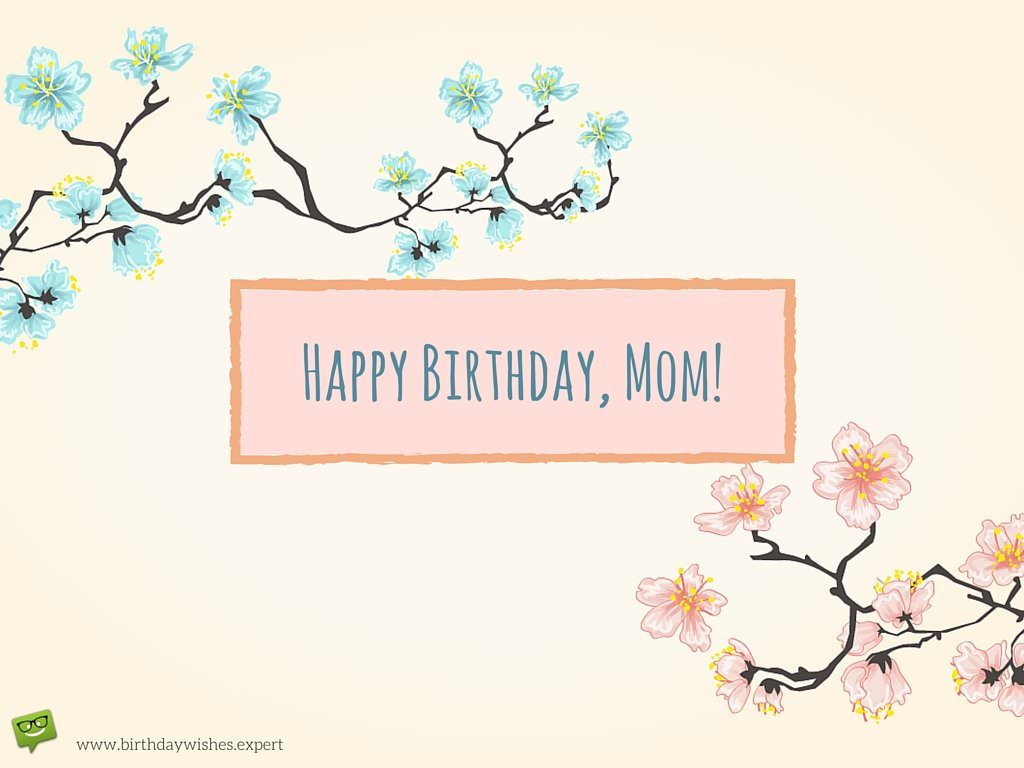 happy birthday mom wallpaper ; Happy-Birthday-Mom-On-japanese-style-background-with-cherry-blossoms