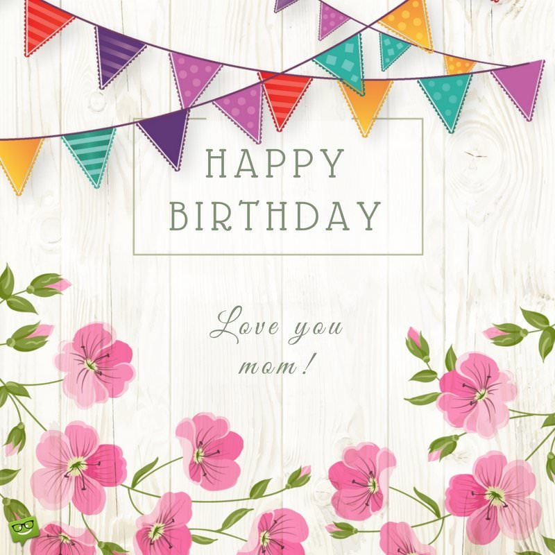 happy birthday mother images ; Birthday-wish-for-mother-on-background-with-flowers-and-garlands