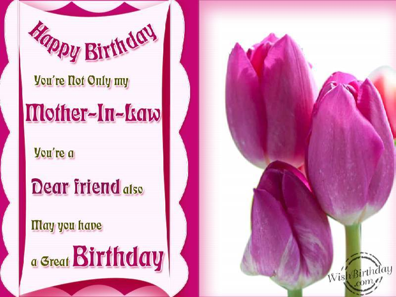 happy birthday mother in law meme ; happy-birthday-youre-not-only-my-mother-in-law-youre-a-dear-friend-also-may-you-have-a-great-birthday